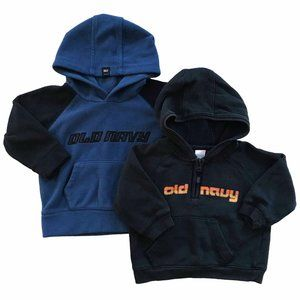 Set of 2 Old Navy Baby Pullover Hoodie Sweaters